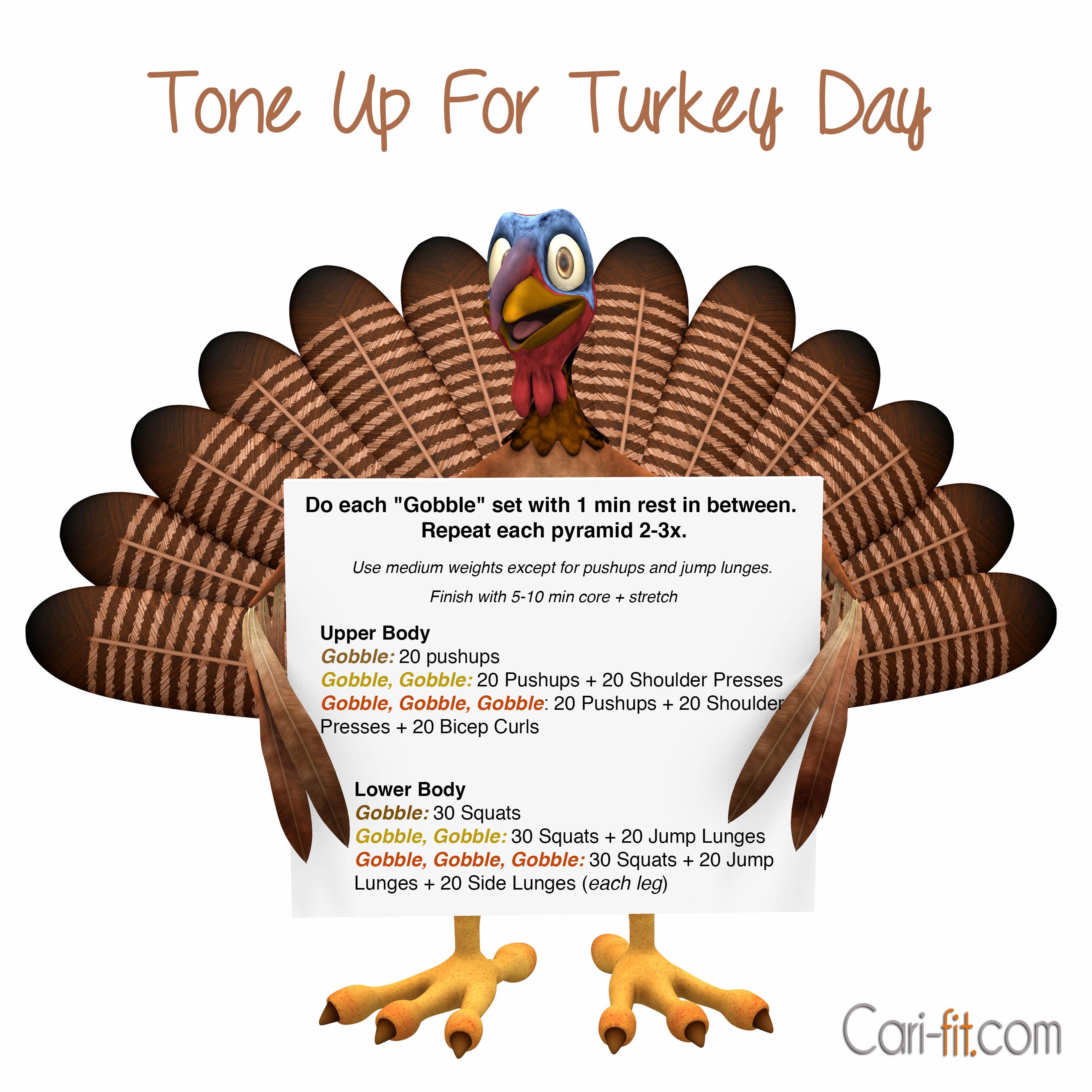 Thanksgiving 13 Workout
