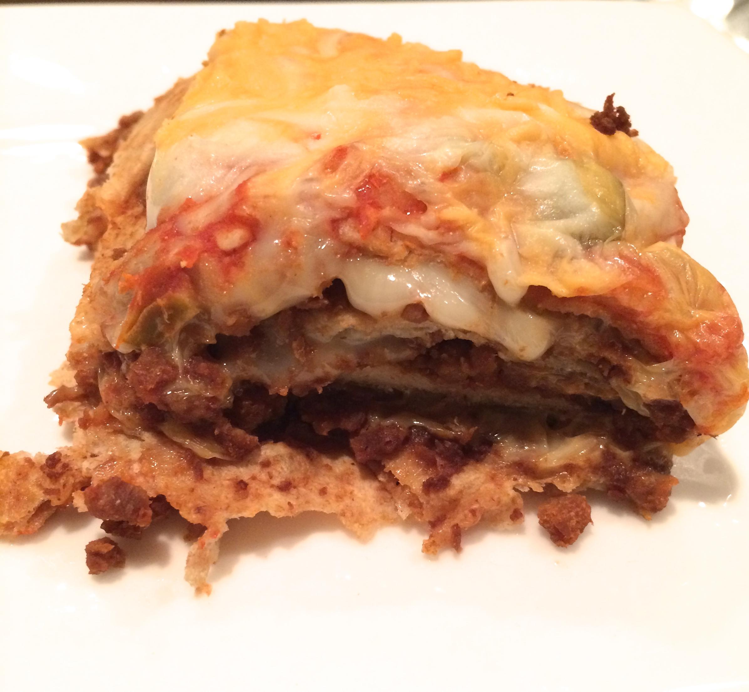 Low Fat Vegetarian Lasagne 119