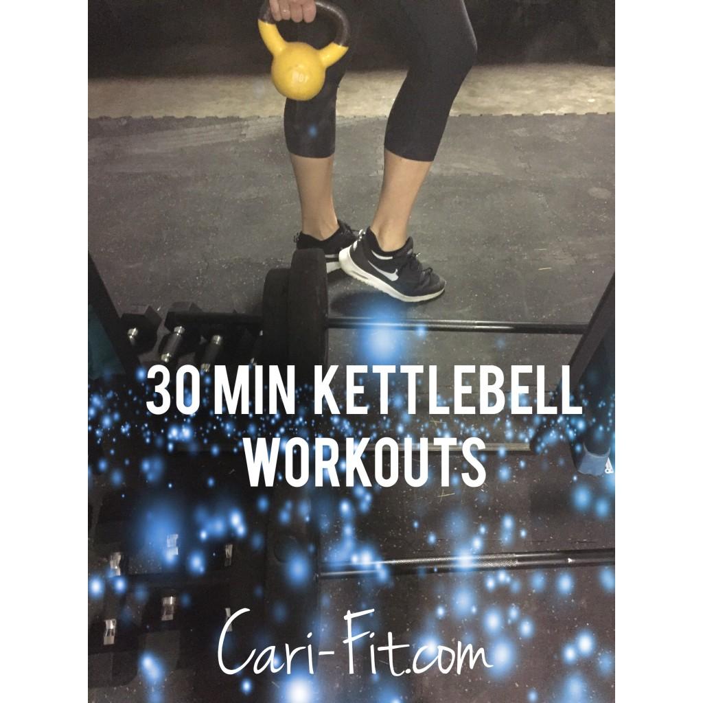 Kettlebell Exercises During Pregnancy: 30 Minute Sample Kettlebell Workouts